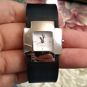 Silpada Genuine Leather Woman's Watch
